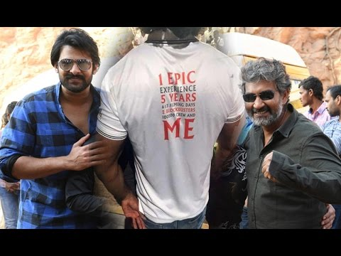 Prabhas Baahubali 2 | Now Hot Topic On All Team T-Shirts in Baahubali 2 Shooting ends