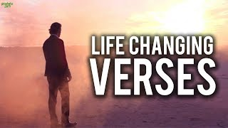 LIFE CHANGING VERSES (Powerful Story)
