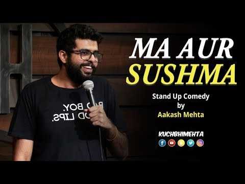 Xxx Mp4 Ma Aur Sushma Stand Up Comedy By Aakash Mehta 3gp Sex