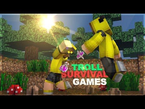 GÖRÜNMEZ OLUP OYUNCULARI TROLLEDİM ! (Minecraft : TROLL Survival Games #1)