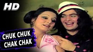 Chuk Chuk Chak Chak Bombay Se Baroda Tak | Usha Mangeshkar,Asha Bhosle|Rafoo Chakkar Songs|Rishi
