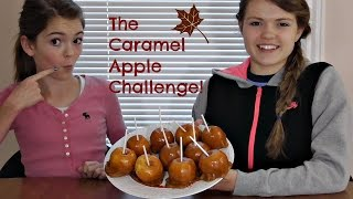 The Caramel Apple Challenge!