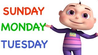 Days Of The Week Song (Single)   Learning Songs For Kids  Original Videogyan 3d Rhymes   Zool Babies