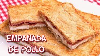 Empanada de Pollo Jamón Bacon y Queso | Receta muy Fácil y Rápida!