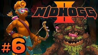 Nidhogg 2 - #6 - Hide in the Tall Grass! (4 Player Gameplay)