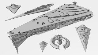 Capital Ship Size Comparison - Star Wars Legends