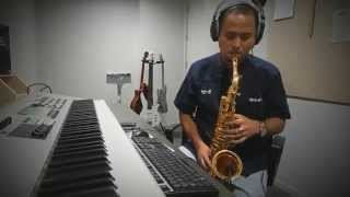 Karena Cinta Saxophone Piano Cover By Sigit Pramono For All My Friends and Global TV