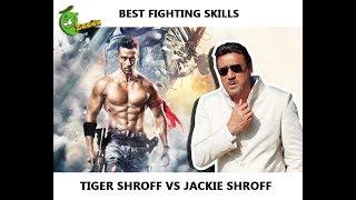 Best Fighting Skills: Tiger Shroff Vs Jackie Shroff (Worst Fighting Scene Ever) - Baaghi 2