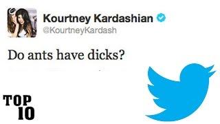 Top 10 Dumbest Tweets - Celebrity Edition - Part 2