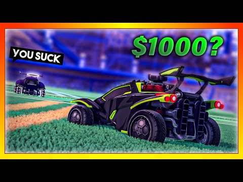 The time I challenged a trash talker to a 1 000 1v1 in Rocket League