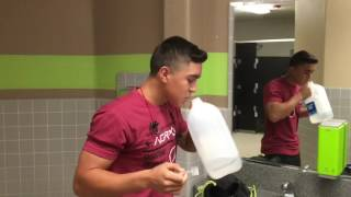 16 year old bodybuilder| BE AGGRESSIVE| first video