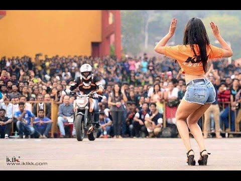 KTM ORANGE DAY MUMBAI 2016 | STUNTS/ TRACK RACING