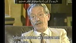 BAKHTIAR Rare Interview گفتگوی نایابی با شاپور بختیار از تلویزیون هلند