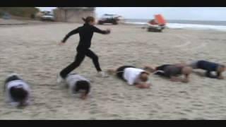Beach Boot Camp Workout