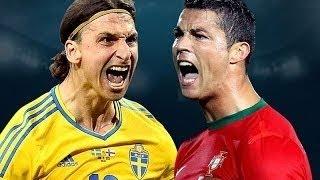 Cristiano Ronaldo Vs Zlatan Ibrahimovic ● Battle For Best Goals Ever HD | Cristiano Ronaldo