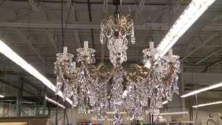 Made in Clinton County - Swarovski/Schonbek Crystal Chandeliers