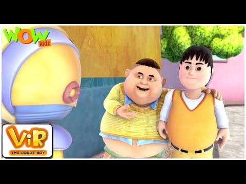 Gintu Meets Chintu Vir The Robot Boy WITH ENGLISH SPANISH & FRENCH SUBTITLES
