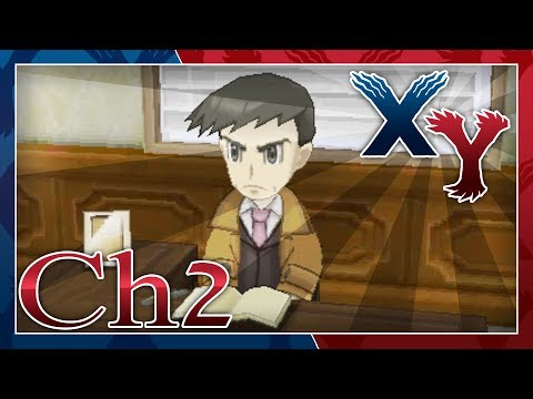 Pokémon X and Y Walkthrough - (Looker, Chapter 2): In The Back Alley
