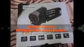 Review HD Digital Video Camera Recorder || 1080p murah untuk moment pribadi anda