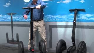 Changes in the Segway i2 SE and How It Works
