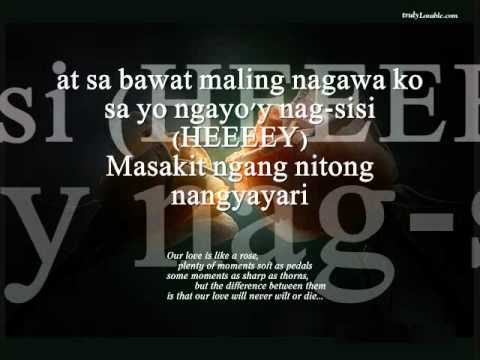 Sorry Tagalog Version by brian mcknight.wmv