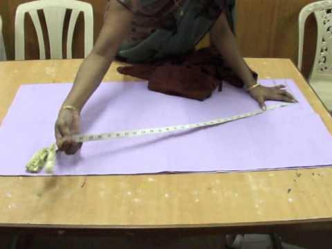 Salwar cutting -- easy method.