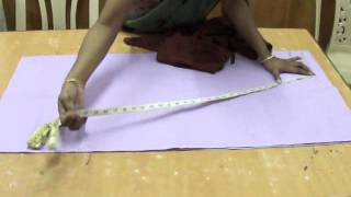 Salwar cutting -- easy method.