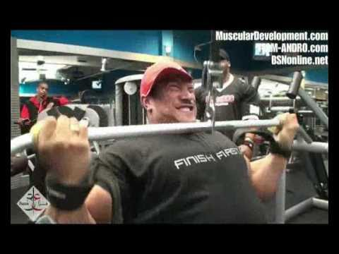 Roelly Winklaar and Essa Obaid Back Workout .wmv