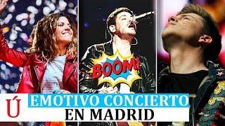 Cepeda, Miriam y Raoul emocionan en el concierto de Operación Triunfo 2017 en Madrid