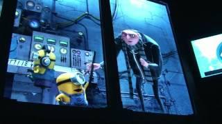 Despicable Me Minion Mayhem Ride Queue & Full Pre-Show, Universal Studios Orlando - Gru, Agnes, More