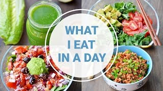 What I Eat In A Day | HEALTHY VEGAN RECIPES
