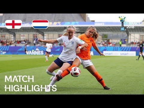 Xxx Mp4 England V Netherlands FIFA U 20 Women's World Cup France 2018 Match 27 3gp Sex