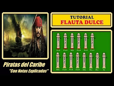 Pirates of the Caribbean Recorder Notes Tutorial