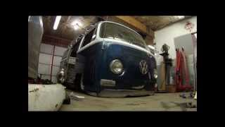 Village Customs MN VW Bus front bagged