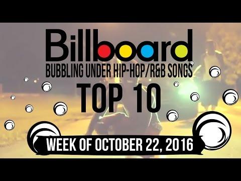 Top 10 - Billboard Bubbling Under Hip-Hop/R&B Songs | Week of October 22, 2016 | Charts