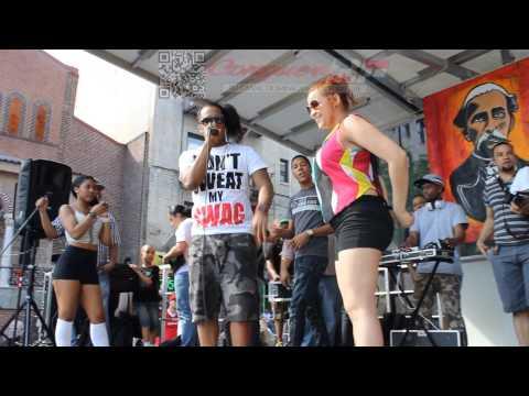 Mujeres Meneando La Chapa Con Wilo D New Festival Del Boulevard CongueroRD JoseMambo
