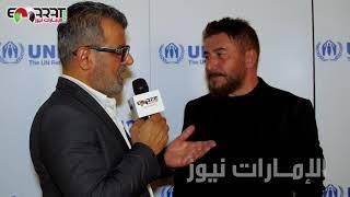 عابد فهد : نادين نجيم شريكة محترفة ولهذا السبب لم يأخذ هارون الرشيد أصداء كبيرة !!