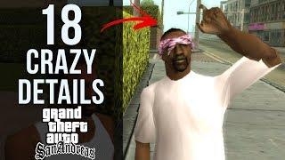 18 CRAZY Details in GTA: San Andreas