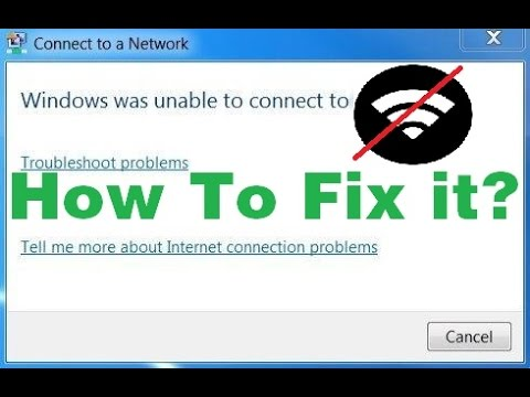 """Xxx Mp4 Fix """"Windows Was Unable To Connect To The Selected Network"""" Step By Step 2016 2017 2018 2019 3gp Sex"""