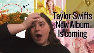 Taylor Swift's new album! (all the new theories)