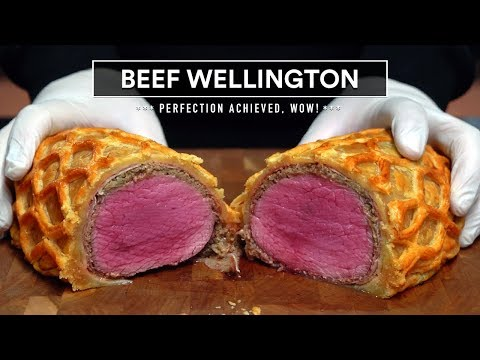 BEEF WELLINGTON on the Grill Easy Quick and DELICIOUS Recipe