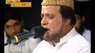 URDU NAAT(Noori Mehfil Pe Chadar)SIDDIQ ISMAIL IN MIRAJ NIGHT QTV.BY Visaal