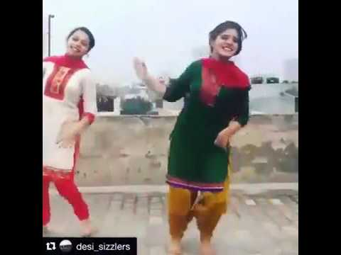 Desi Girl Dance On Punjabi Song