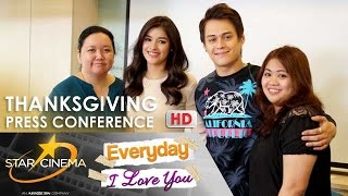 FULL: 'Everyday, I Love You' Thanksgiving Press Conference | Enrique Gil | Liza Soberano