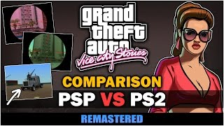 GTA Vice City Stories - PSP VS PS2 [In-depth Comparison] - Remastered