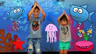 BABY SHARK Dance Challenge by Misha