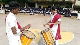 കേരളപ്പിറവി ദിനാഘോഷത്തോടനുബന്ധിച്ചു വിദ്യാർത്ഥികൾ അവതരിപ്പിച്ച ചെണ്ട മേളം | GHSS Kottappuram