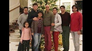Mahesh Babu With Family   Super star Mahesh Babu Family with Jayadev Galla Family  Video