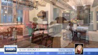 12 VIA VERONA CT - Henderson - Homes for Sale NV - 1383721