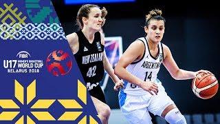 LIVE 🔴- Argentina v New Zealand - FIBA U17 Women's Basketball World Cup 2018